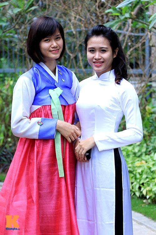 Thiếu nữ Việt điệu đà diện hanbok - 7
