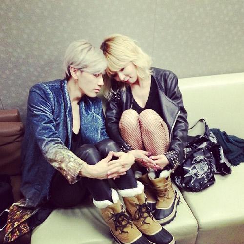 """Lộ ảnh """"cấm"""" của cặp đôi hot nhất K-Pop - 4"""