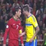 Bóng đá - Bị ức chế, Ronaldo gây hấn với đối thủ