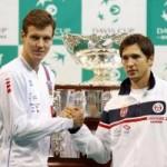 Thể thao - Lajovic - Berdych: Choáng ngợp (CK Davis Cup, ngày 1)
