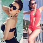 """Thời trang - 7 ca sĩ Việt """"bỏng mắt"""" với bikini"""