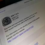 Công nghệ thông tin - Đã có bản cập nhật iOS 7.0.4
