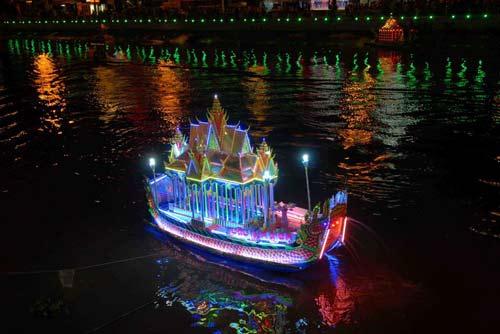 Đặc sắc Festival đua ghe ngo đồng bào Khmer - 14