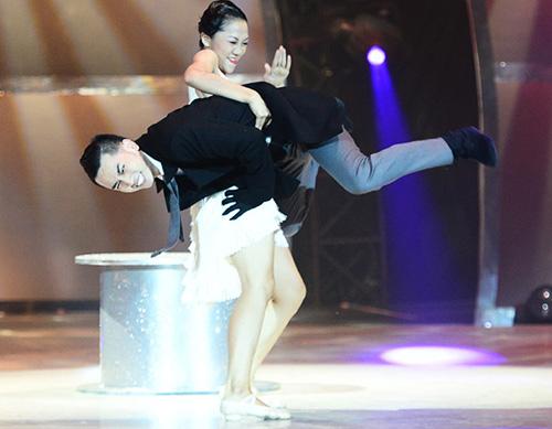Thót tim vì thí sinh Bước nhảy - 7