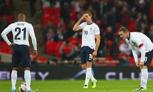 ĐT Anh: Chỉ là đội bóng hạng hai - 1