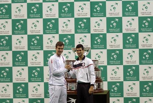 Djokovic - Berdych: Cuộc chiến sinh tồn (CK Davis Cup, ngày 3) - 1
