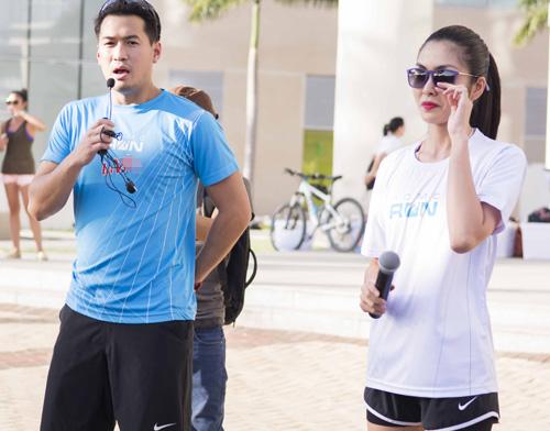 Hà Tăng háo hức chạy bộ cùng em chồng - 3