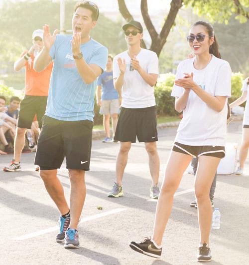 Hà Tăng háo hức chạy bộ cùng em chồng - 5