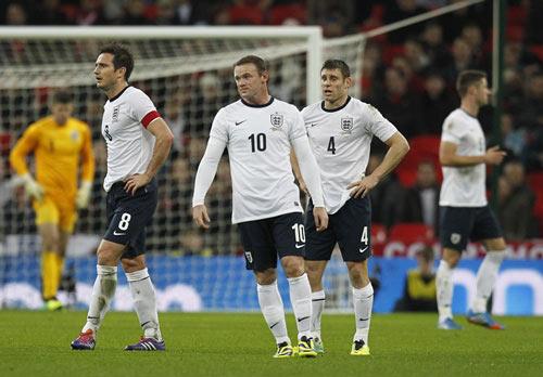 ĐT Anh: Đừng quá lạm dụng Rooney - 1