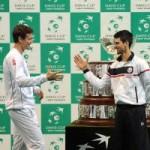 """Thể thao - CK Davis Cup, ngày 3: """"Cánh én"""" Djokovic"""