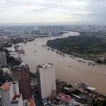 Tin tức trong ngày - TPHCM: Triều cường cao gây ngập nhiều tuyến phố