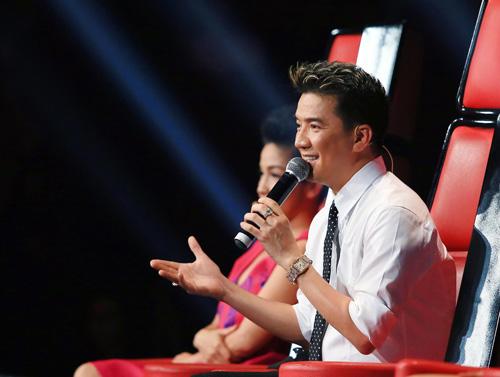 """Quốc Trung """"lên lớp"""" Mr. Đàm, Hồng Nhung - 1"""