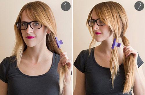 5 phút cho mái tóc xinh xắn, dễ thương - 2