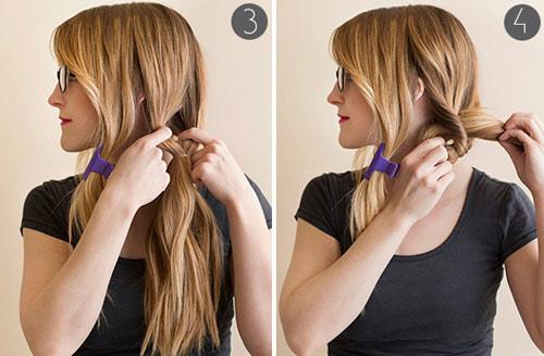 5 phút cho mái tóc xinh xắn, dễ thương - 3