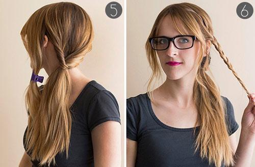 5 phút cho mái tóc xinh xắn, dễ thương - 4