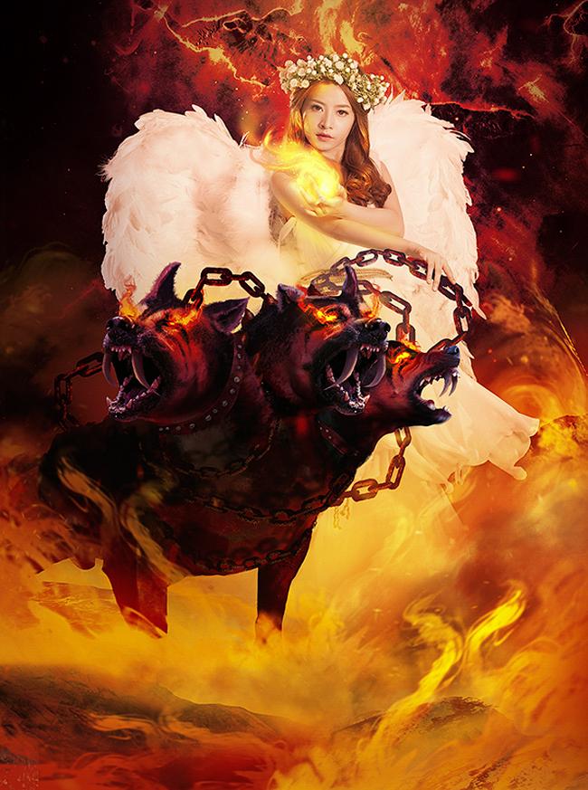 Chi Pu hóa thân thành thần Hades, Vị thần cai quản địa phủ và mặt đất