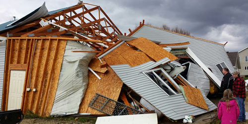 Chùm ảnh: Lốc xoáy tàn phá miền Trung nước Mỹ - 7