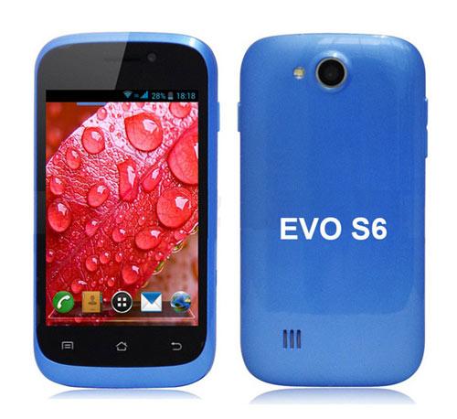 Evo S6 đổ bộ thị trường smartphone giá rẻ - 1