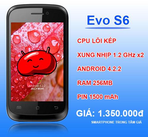 Evo S6 đổ bộ thị trường smartphone giá rẻ - 4