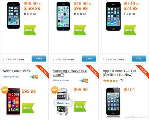 iPhone 5S và Lumia 1520 giá giảm mạnh - 1