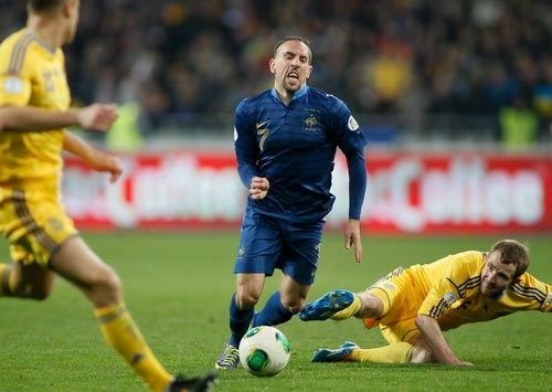 Ribery: Đừng vội nghĩ tới QBV - 1