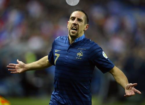 Ribery: Đừng vội nghĩ tới QBV - 2