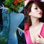 Bạn trẻ - Cuộc sống - Dung nhan hot girl nghiện body painting