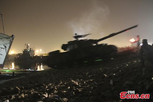 TQ đổ quân, nã pháo ngay cạnh nách Triều Tiên - 3