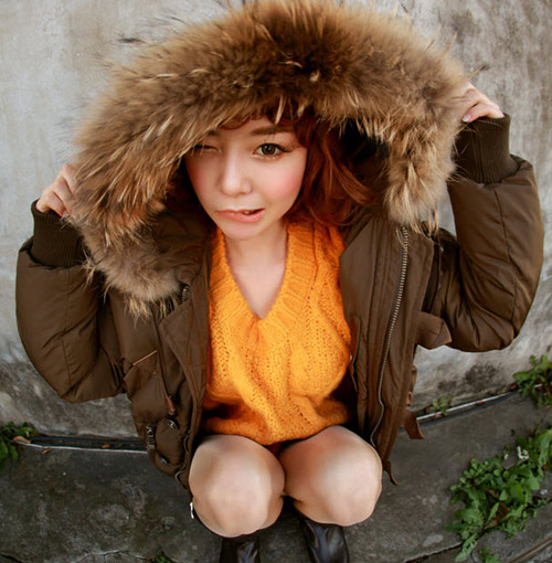 Cô nàng xinh xắn nhờ áo khoác dễ thương - 15