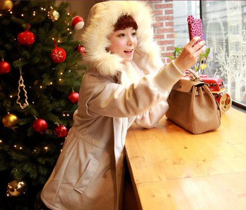 Cô nàng xinh xắn nhờ áo khoác dễ thương - 14