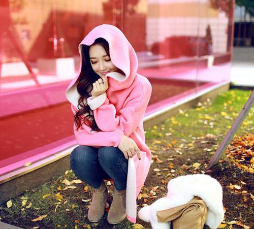 Cô nàng xinh xắn nhờ áo khoác dễ thương - 13
