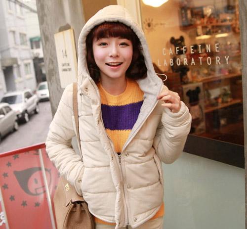 Cô nàng xinh xắn nhờ áo khoác dễ thương - 8