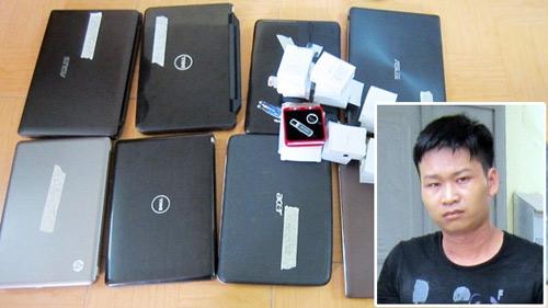 Nam sinh trộm hàng loạt laptop của bạn học - 1