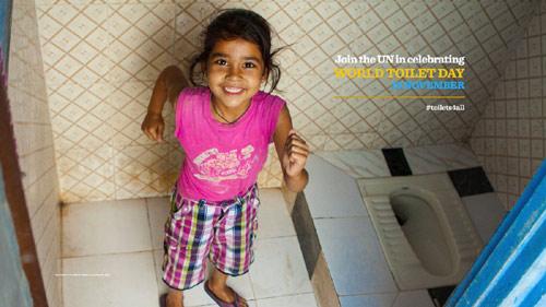 Công bố Ngày Toilet Thế giới - 2
