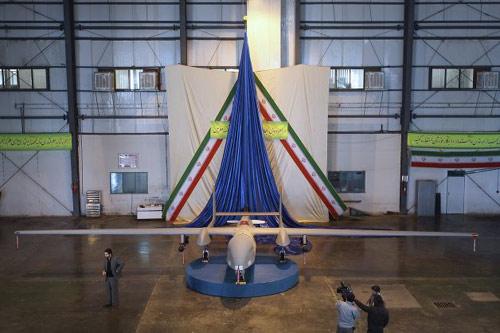 Iran chế máy bay do thám gắn tên lửa cực lớn - 1