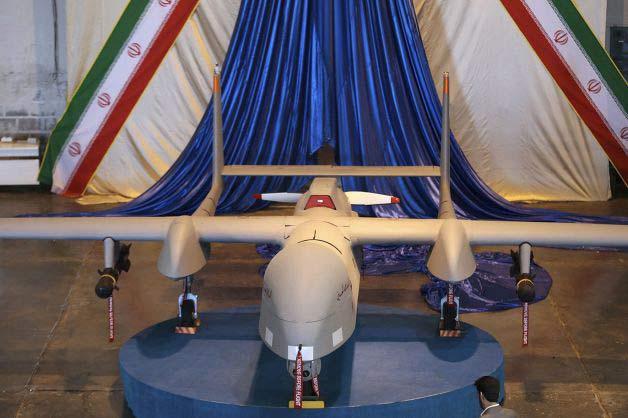 Iran chế máy bay do thám gắn tên lửa cực lớn - 2