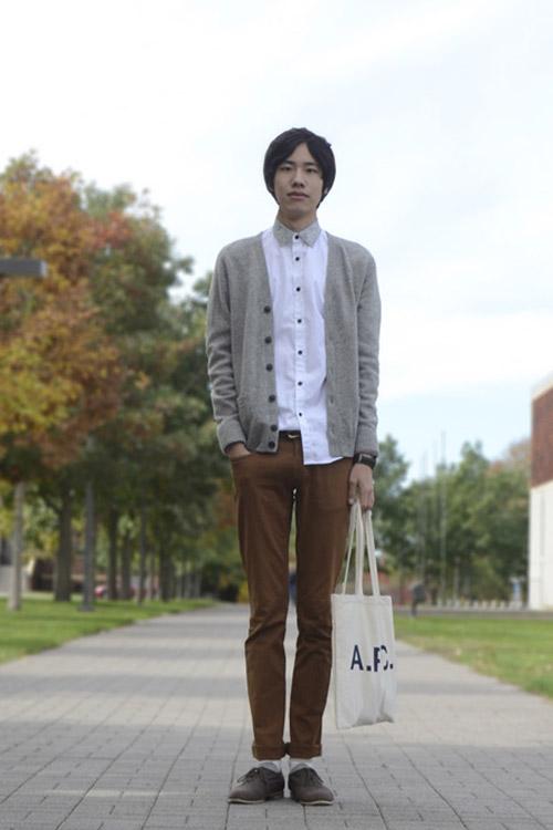 Xem đàn ông châu Á mặc gì trên phố! - 9