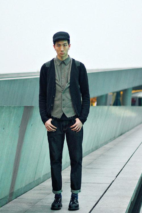 Xem đàn ông châu Á mặc gì trên phố! - 11
