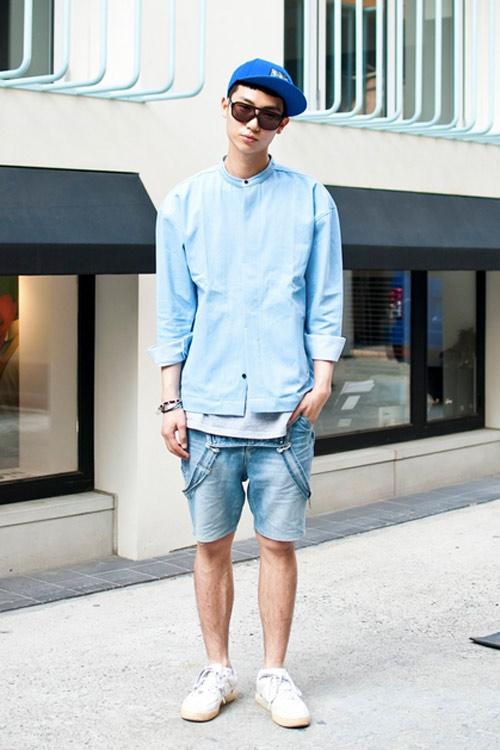 Xem đàn ông châu Á mặc gì trên phố! - 12