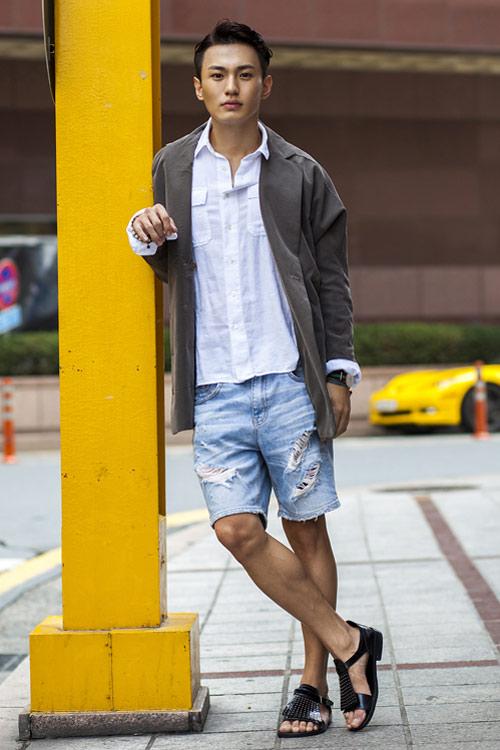 Xem đàn ông châu Á mặc gì trên phố! - 18