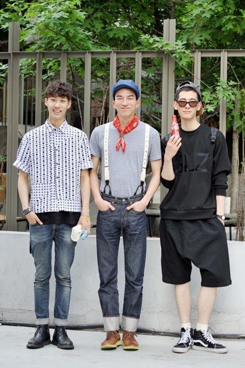 Xem đàn ông châu Á mặc gì trên phố! - 17