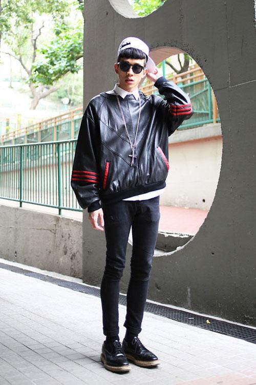 Xem đàn ông châu Á mặc gì trên phố! - 16