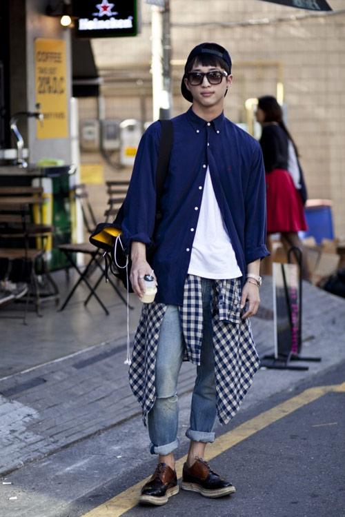 Xem đàn ông châu Á mặc gì trên phố! - 4