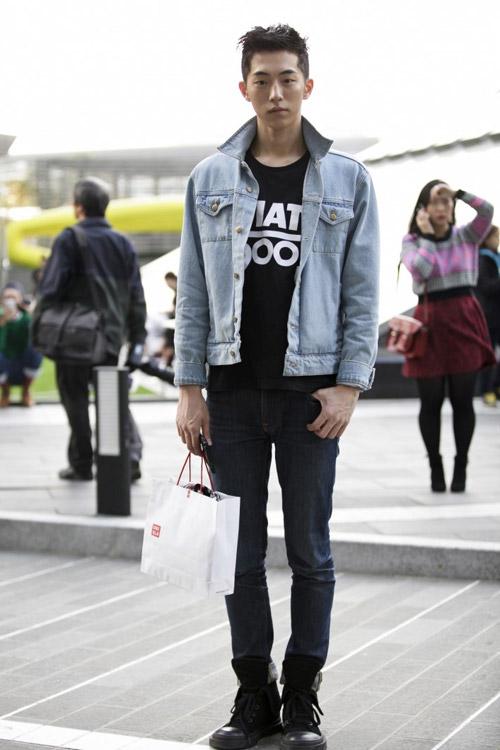 Xem đàn ông châu Á mặc gì trên phố! - 5