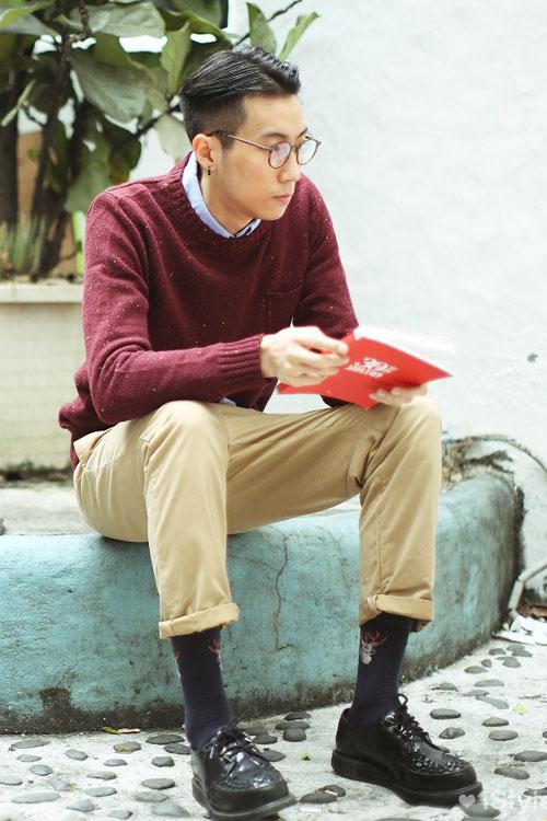Xem đàn ông châu Á mặc gì trên phố! - 10
