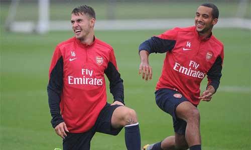Arsenal đón tin vui khi Walcott trở lại - 1