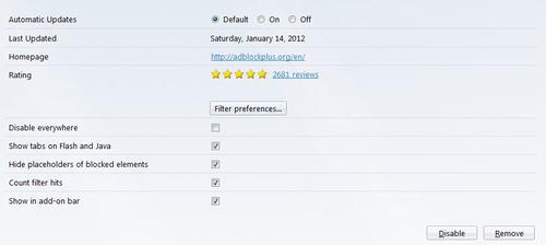 Thao tác đơn giản loại hết quảng cáo khỏi Firefox - 3