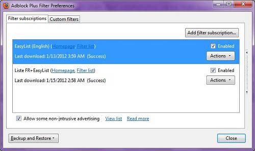 Thao tác đơn giản loại hết quảng cáo khỏi Firefox - 4