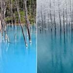 Du lịch - Hồ nước ma thuật đổi màu theo thời tiết