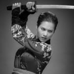 Phim - Á hậu Hoàng My hóa samurai lạnh lùng